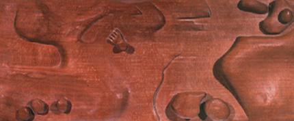 Marília Torres 1978 S/ TÍTULO Escultura em madeira 101 x 38 x 10 cm