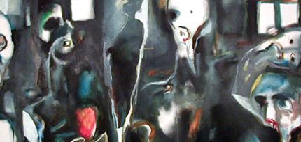 Miguel D'Alte, 1982 S/ TÍTULO Óleo s/ Tela 100 x 200 cm