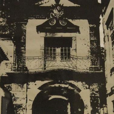 Cabral Pinto (PT) Pousada, 1980 Serigrafia sobre papel 50 x 70 cm Obra apresentada na II Bienal Internacional de Arte de Cerveira, realizada de 2 a 31 de agosto de 1980.