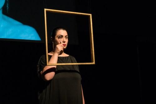 """Performance """"Antes e Depois. Restaurando a Ordem Natural"""" 12 de agosto Conceção: Mónica Mura XX Bienal Internacional de Arte de Cerveira (2018)"""