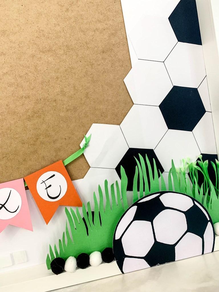 Ribba Rahmen Fussball Geschenk Bienchenweb