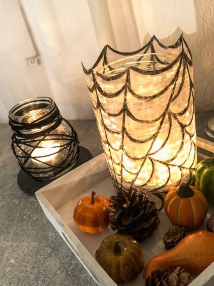 DIY Halloween Windlichter