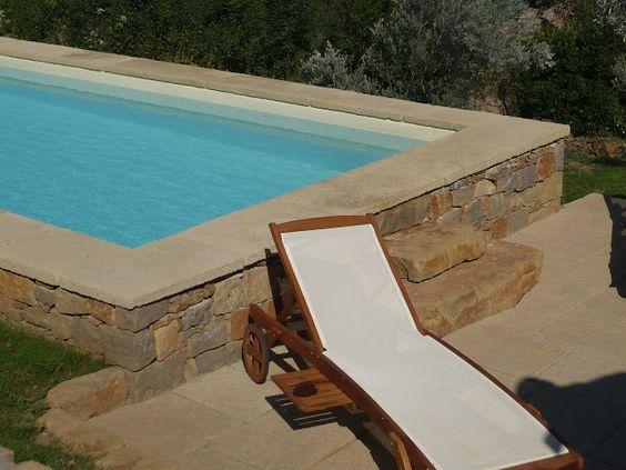 Rectangulaire plage en bois composite et terrasse en - Terrasse bois et pierre naturelle ...