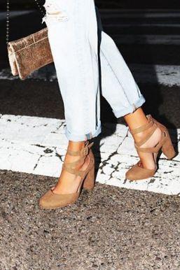 chaussures en cuir vegan