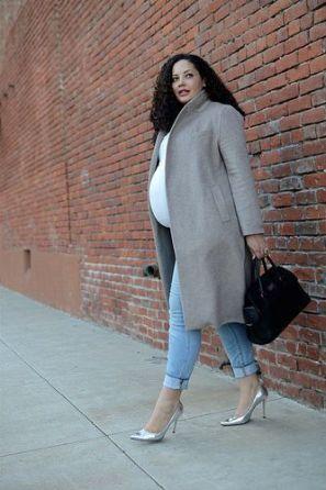 comment s'habiller enceinte en hiver