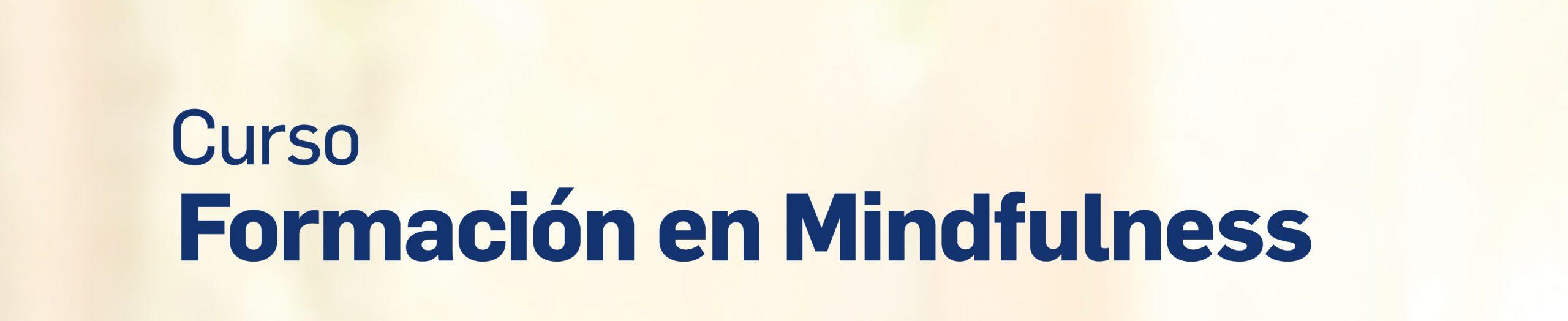 Formación en Mindfulness