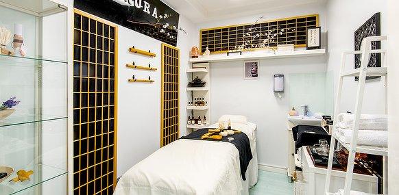 Cabina de tratamientos belleza y bienestar