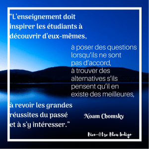 citation de Noam Chomsky