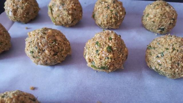 falafels healthy au four