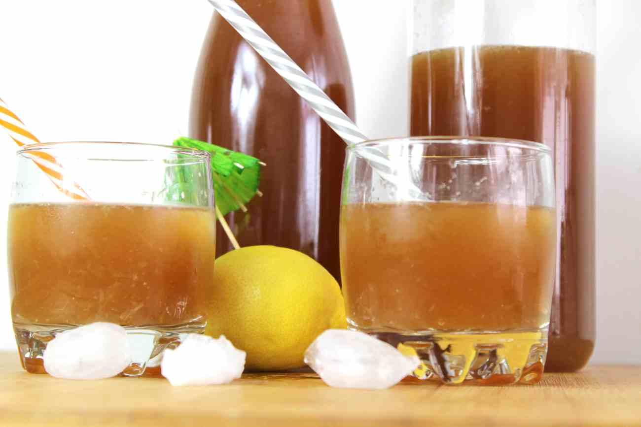 Citronnade rafraîchissante