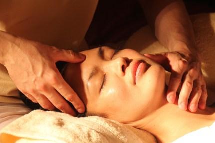 Massage détente acupression do in