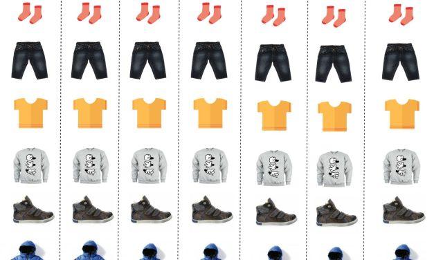 [3 – 4 ans] Apprendre à s'habiller dans la bonne humeur avec un Dressing Board