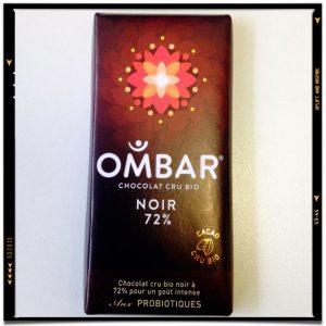 Ombar - Chocolat cru 72% noir