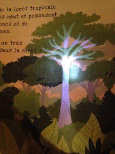 La même page avec la lumière de la torche :-)
