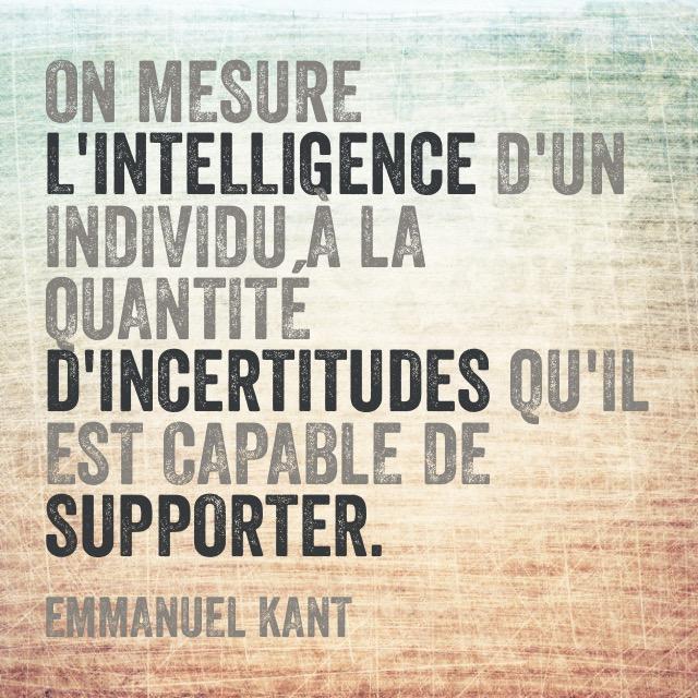 Citation Emmanuel Kant