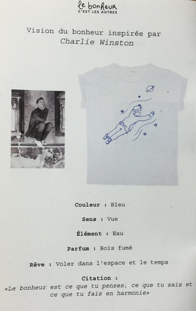 Tee shirt bonheur balzac