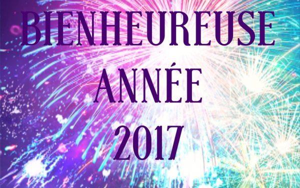 Bienheureuse année 2017