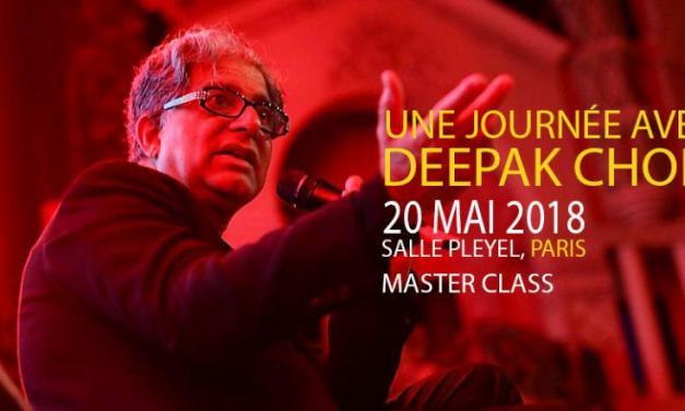 3 raisons pour lesquelles je n'irai pas voir Deepak Chopra en Mai 2018
