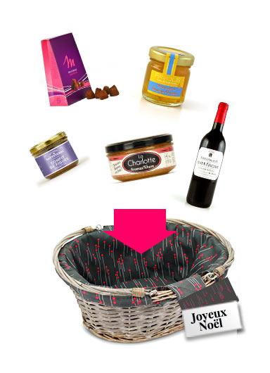 Panier Gourmand Pas Cher : panier, gourmand, Panier, Personnalisé, Faire, Cadeau, Mesure