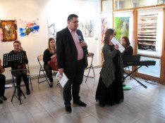 Bürgermeister Mirsad Mamutagic, Prof. Admira Bradaric