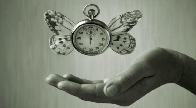 El tiempo se va, se va...