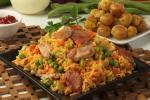 Delicioso arroz atollado