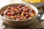 Delicioso chili con carne casero