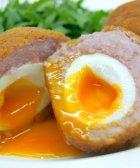 Deliciosos huevos escoceses
