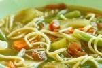 Deliciosa sopa de verdura y pasta