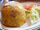 Delicioso mofongo puertorriqueño