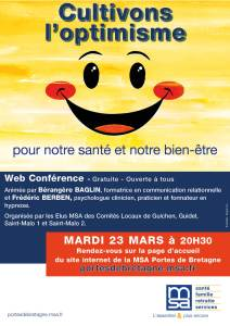 Conférence Optimisme 23 mars 2021