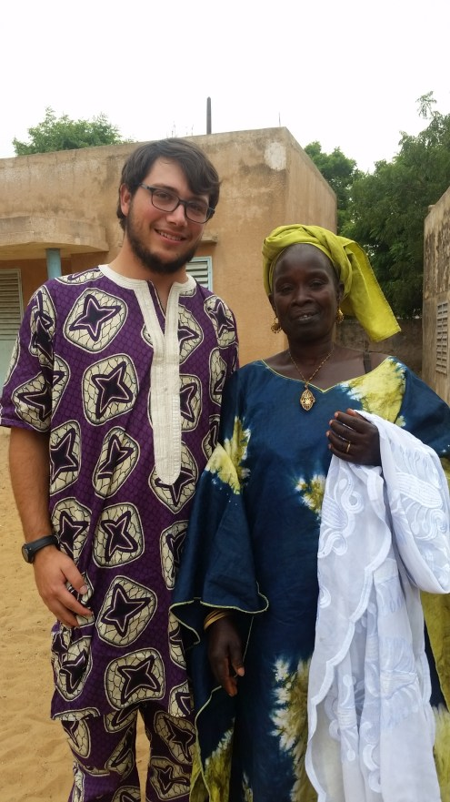 Myself and my mother from Tassette, Yai Penda, in our finest!