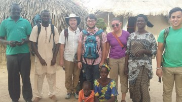 A quick pic snapped as the Seereer language group prepares to leave Ngianda after our 5 day Language Seminar.