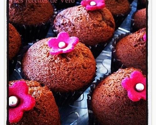 Muffins au coulis de myrtilles