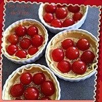 Pizzettes aux tomates-cerises