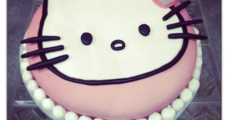 The Bubble cake Hello kitty