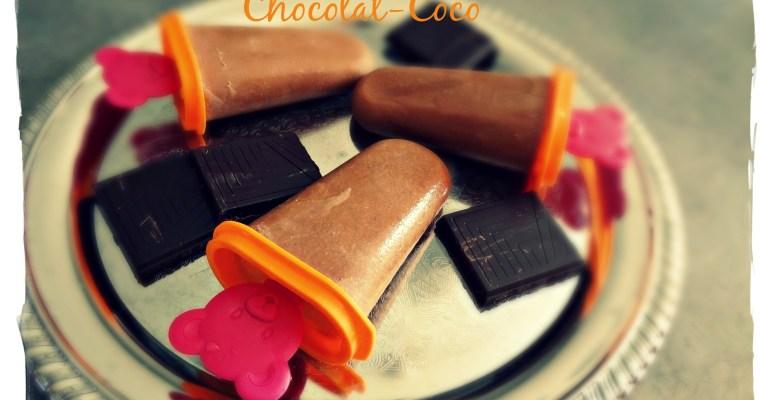 Popsicles Chocolat-Coco