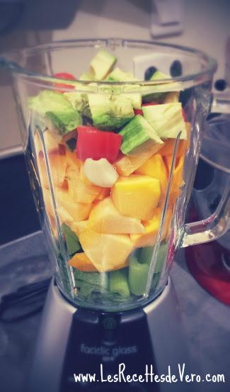soupe cru légumes
