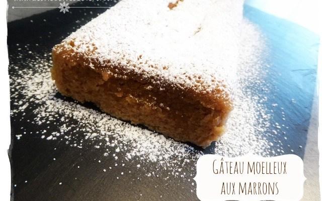 Gâteau moelleux aux marrons (cuisson vapeur) sans gluten