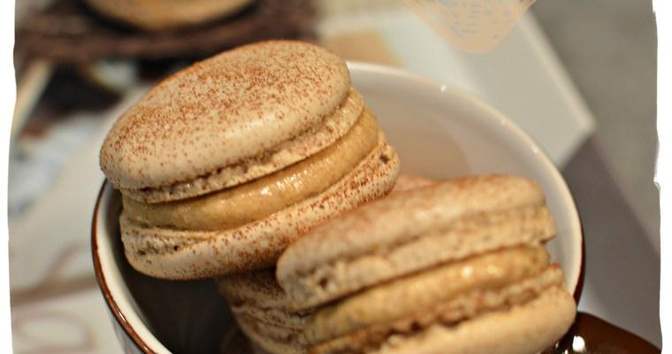 Macarons au café (meringue italienne C. Felder)