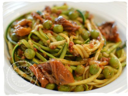 spaghettis courgettes 1