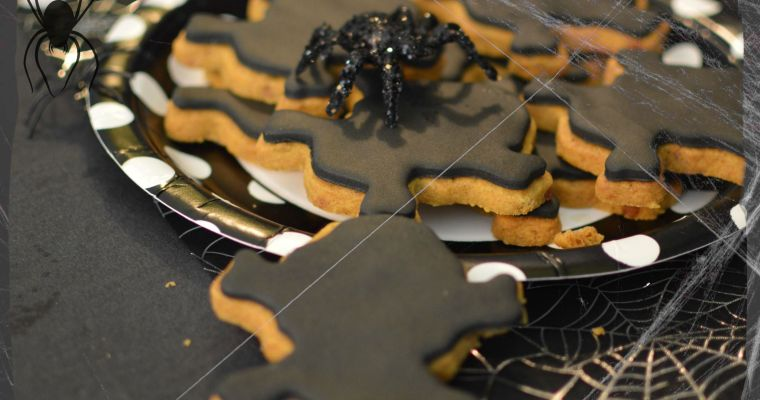 Speculoos Tête de mort pour Halloween – Sans gluten