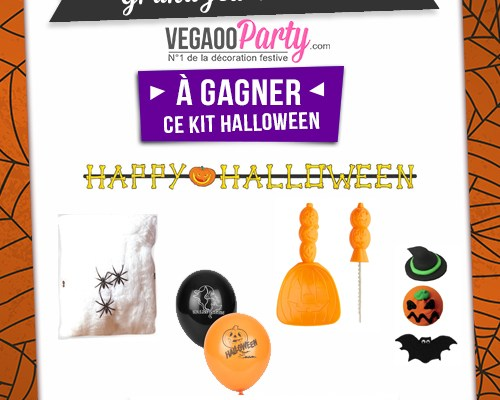 Concours Halloween avec Vegaooparty