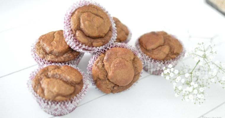 Muffins sans gluten protéinés à la banane