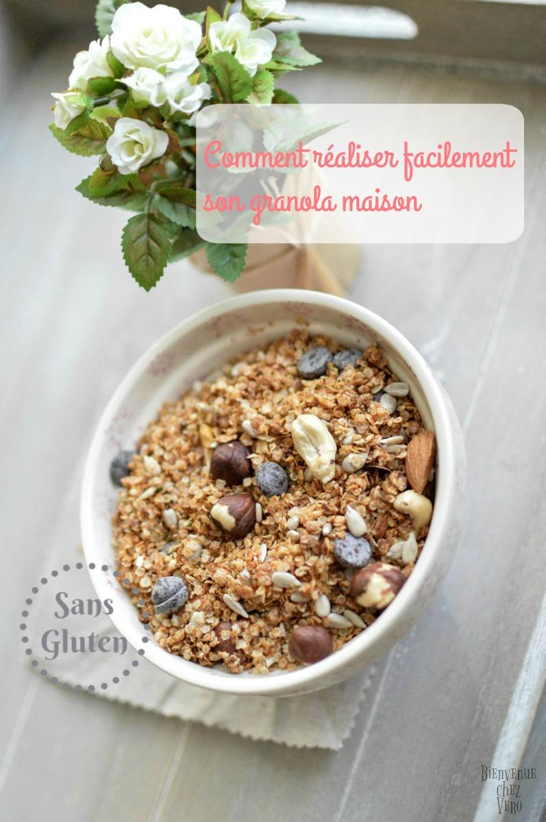 [BIENVENUE CHEZ VERO] Comment réaliser facilement son granola maison et sans gluten
