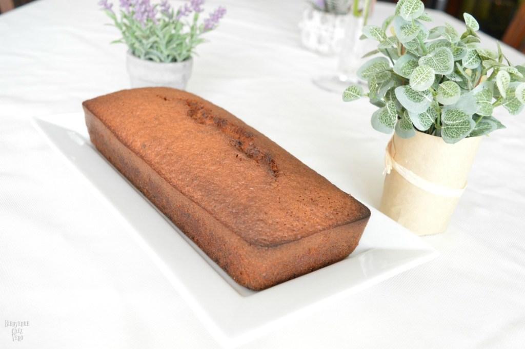 BIENVENUE CHEZ VERO - Cake à la banane et aux pépites de chocolat sans gluten