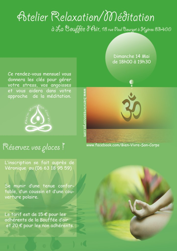 Méditation Mai - La Bouffée d'air
