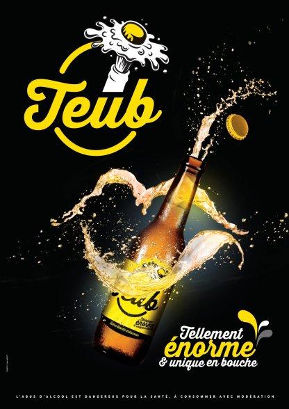 Affiche Bières Teub