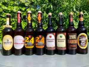 Les bières de la marque Saveurs en'Or