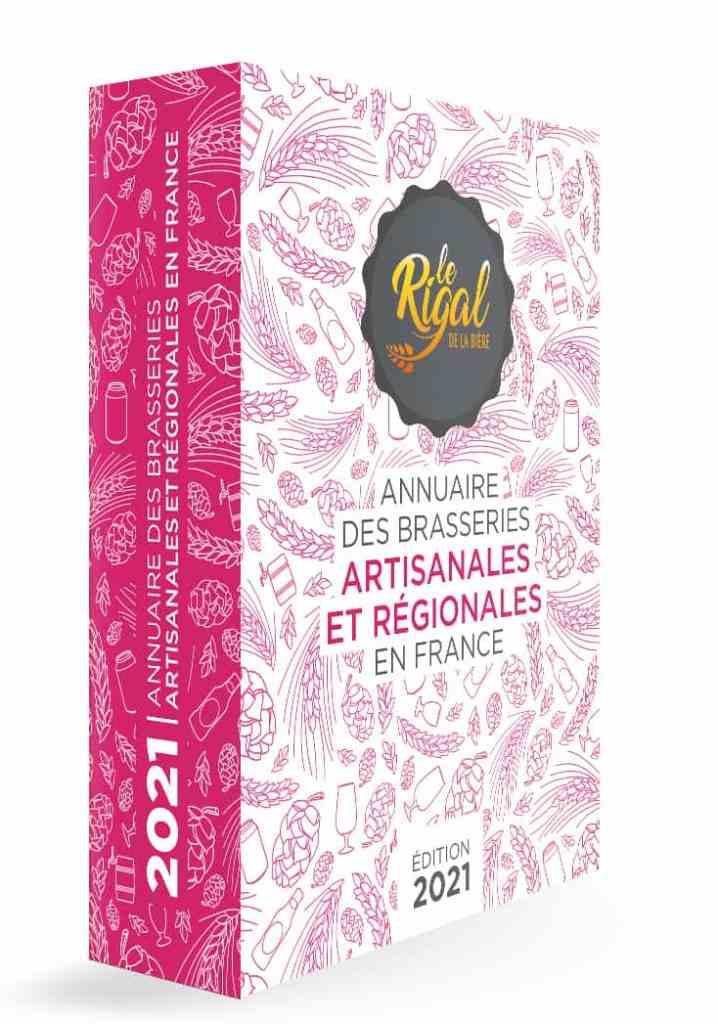 Le Rigal de la Bière, 4ème édition l'annuaire des Brasseries Artisanales et Régionales 2021 est sorti ! Qualifié par la presse brassicole de « Bible de la Bière », d'ouvrage lumineux, moderne par son graphisme, riche en informations, cet annuaire professionnel recense les brasseries par région et par département dont la production est inférieure à 200 000 hl en France et en Outremer ; Il faut compter environ 2 100 brasseries à fin 2020, soit 20 % de plus par rapport à fin 2019.